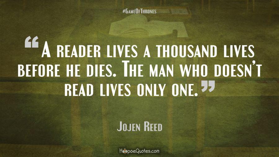 Jojen Reed Quotes