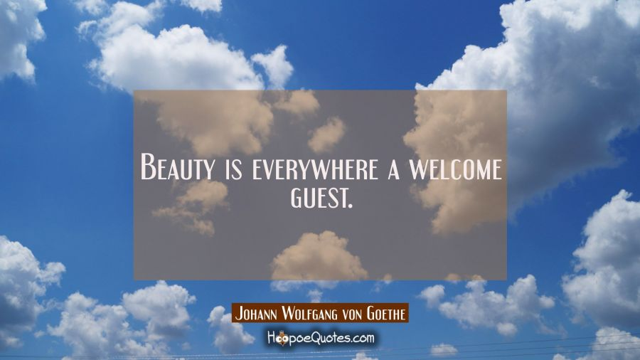 Beauty Is Everywhere A Welcome Guest Hoopoequotes