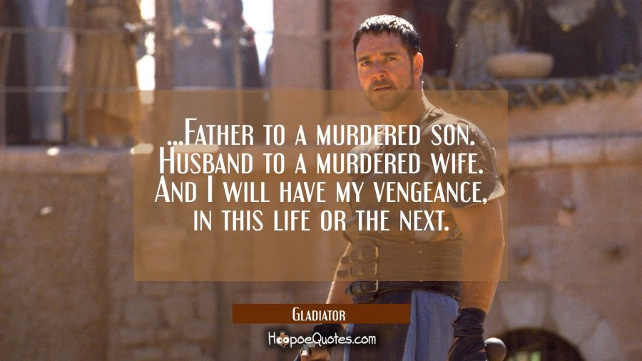 father to a murdered son husband to a murdered wife and