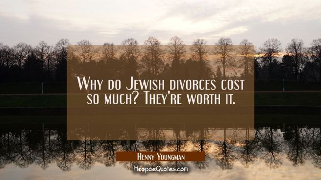 Why do Jewish divorces cost so much? They're worth it.