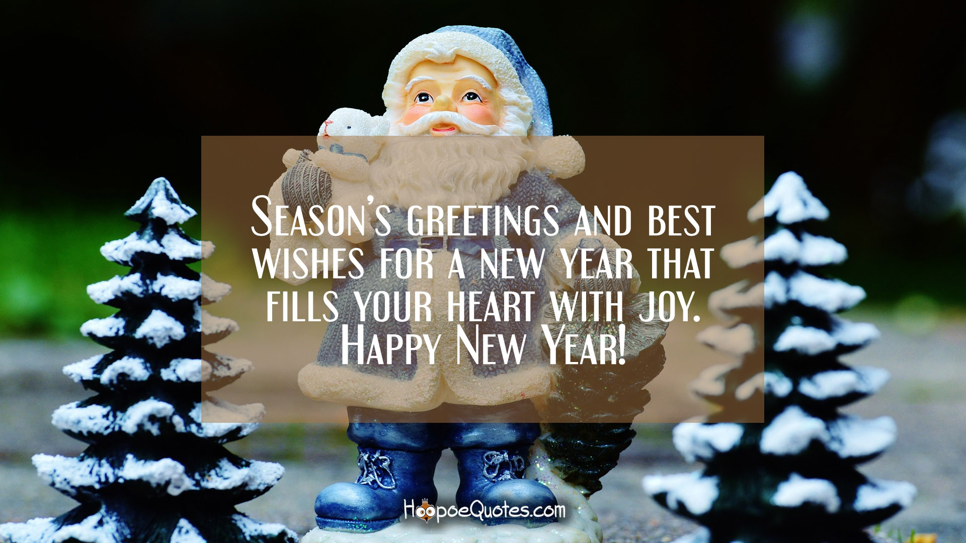 Seasons Greetings And Best Wishes For A New Year That Fills Your