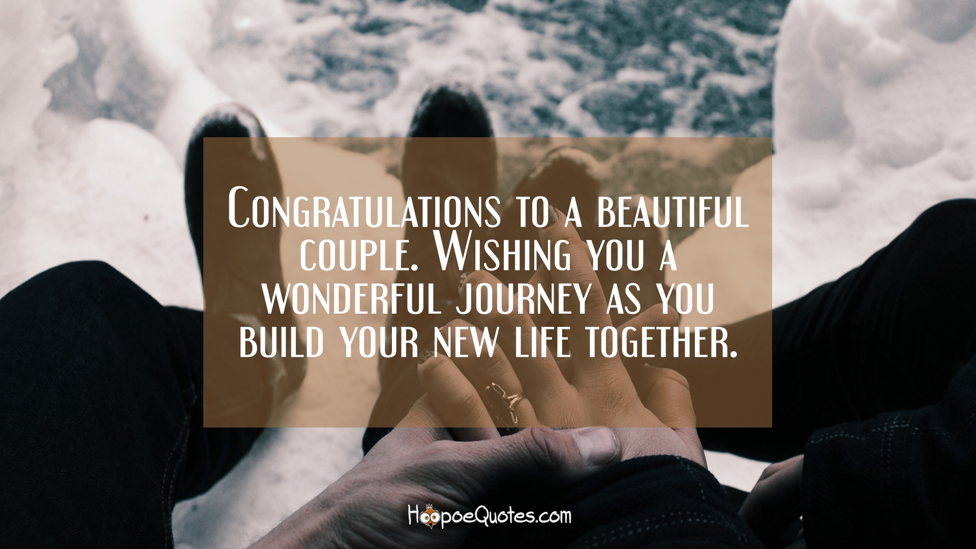 Congratulations To A Beautiful Couple. Wishing You A